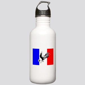 French Football Flag Stainless Water Bottle 1.0L