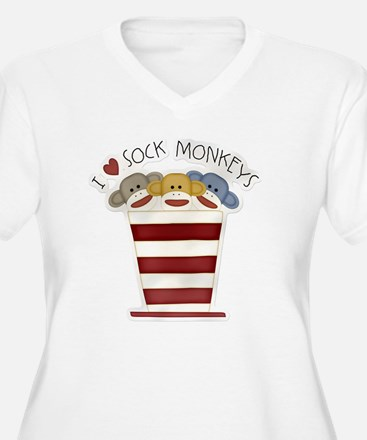 I love sock monke T-Shirt
