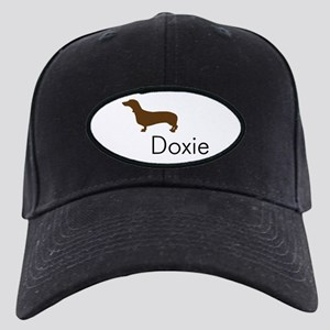 Doxie Dachshund Dog Black Cap