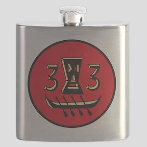 DESRON 33 US Navy Destroyer Squadron Militar Flask