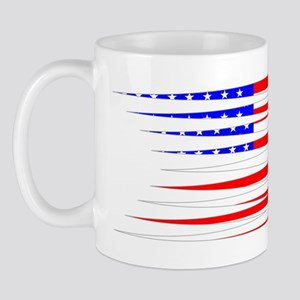 BoxingDesign USA White Mug
