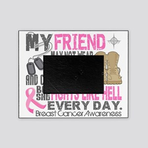 - DogTags Breast Cancer Friend Picture Frame