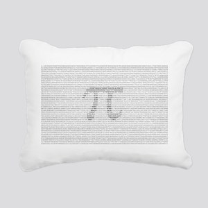 pidigits Rectangular Canvas Pillow