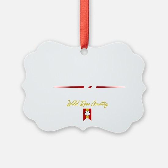 Calgary Script B Ornament