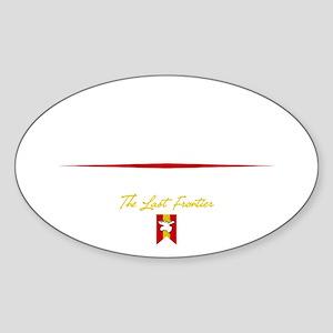 Fairbanks Script B Sticker (Oval)