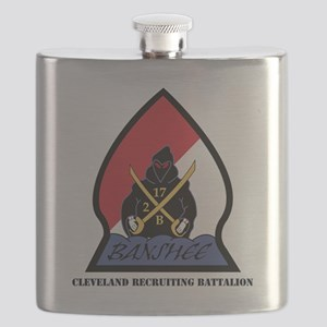 DUI-CLEVELAND RECRUITING BN WITH TEXT Flask