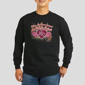 Friends Love 12 Long Sleeve Dark T-Shirt
