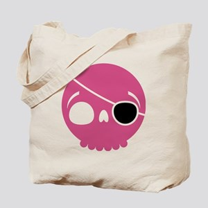 pirate-skull-pink Tote Bag