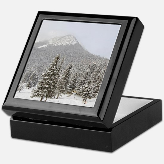 Canada, Alberta, Lake Louise. Farimon Keepsake Box