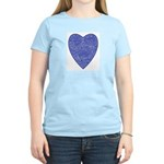 Blue Heart Women's Light T-Shirt