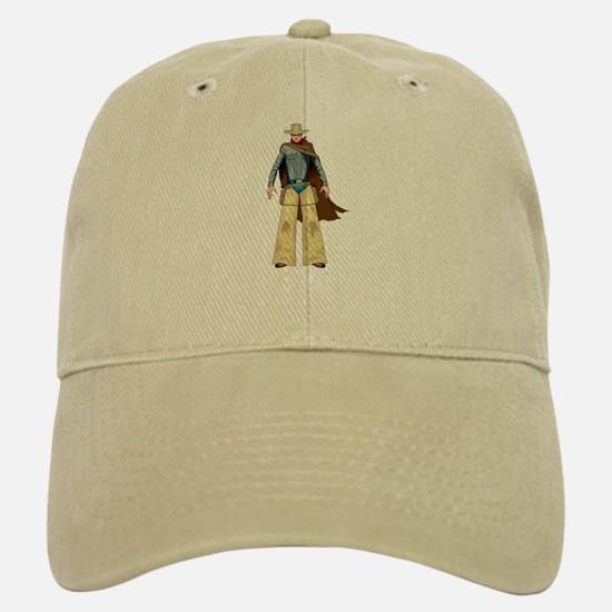 Old West Marshal Baseball Baseball Cap