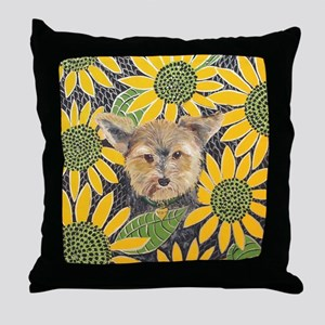 SQLite Morkie Throw Pillow