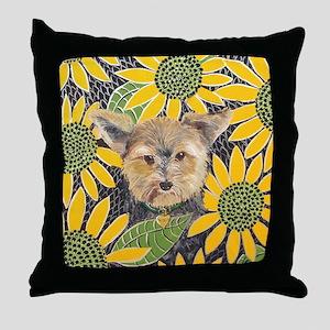 MouseLite Morkie Throw Pillow