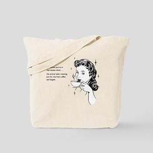Free Food Tote Bag