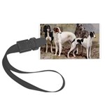 Large Sighthound Luggage Tag