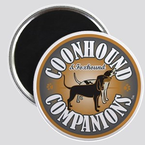 Coonhound-Companion-logo Magnet