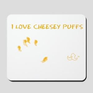 Cheesy Puffs Mousepad