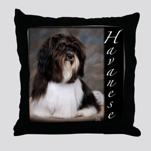 Havanese Throw Pillow