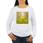 Aspen Trail Deer Women's Long Sleeve T-Shirt