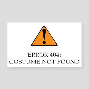 Error 404 Costume light Rectangle Car Magnet