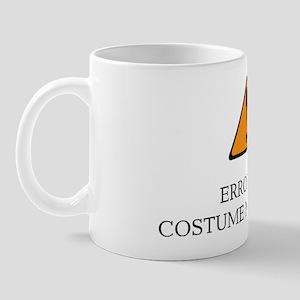 Error 404 Costume light Mug