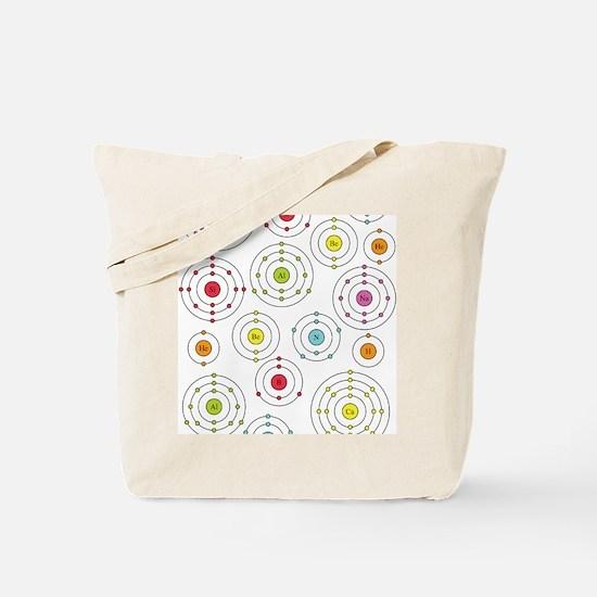 periodic shells fabric Tote Bag
