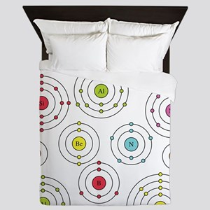 periodic shells fabric Queen Duvet