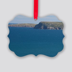 St. John's. View of lighthouse fr Picture Ornament