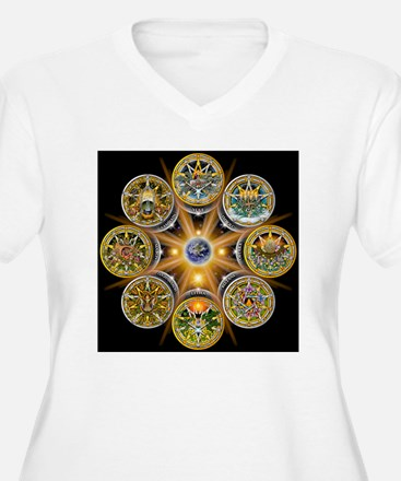 Witches Wheel of  T-Shirt