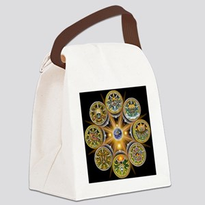 Witches Wheel of the Year Canvas Lunch Bag