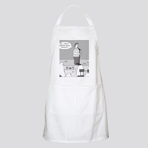 Ghost Comedian - no text Apron