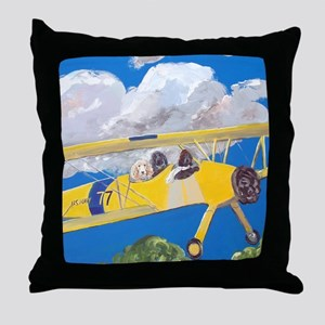SQLite FlightCrew Throw Pillow