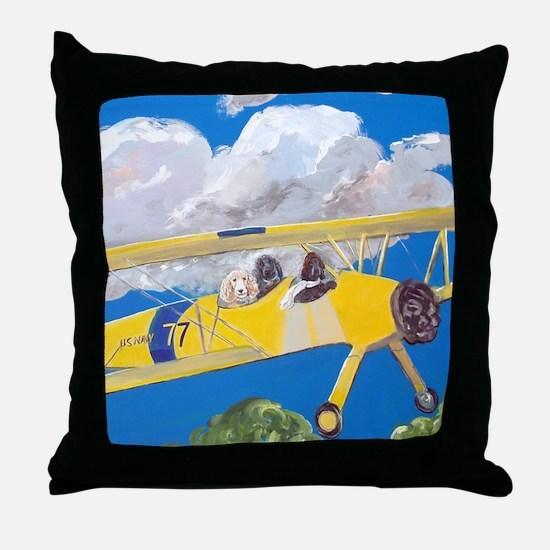 SQLite FlightCrew Throw Pillow