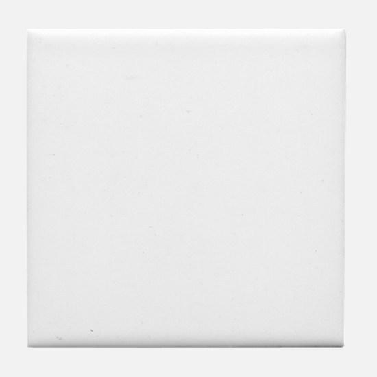 HowButtaFesk_White Tile Coaster