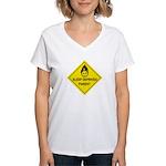 Sleep Deprived Parent Women's V-Neck T-Shirt