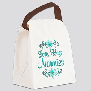 nannies Canvas Lunch Bag