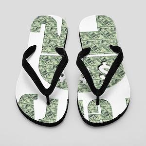 Perry Greed $$$ Flip Flops