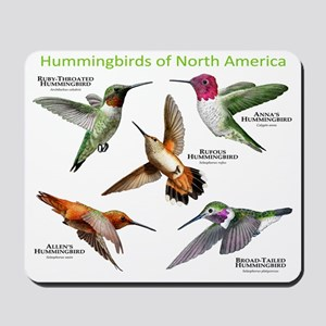 Hummingbirds of North America Mousepad
