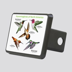 Hummingbirds of North Amer Rectangular Hitch Cover