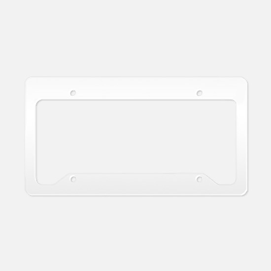 CGY Brushed B License Plate Holder