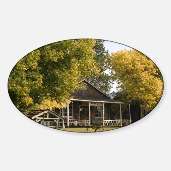 VernonO'Keefe Historic Ranch Museum Sticker (Oval)