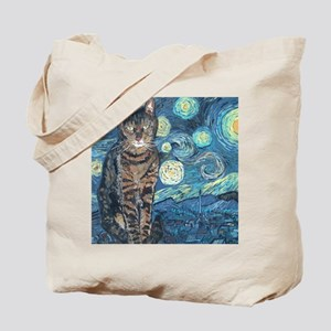Mouse StarryCat Tote Bag