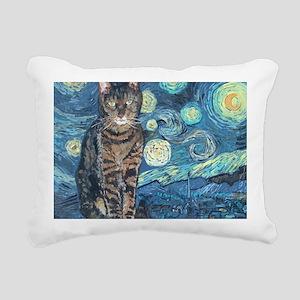 Mouse StarryCat Rectangular Canvas Pillow