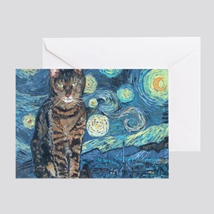 Mouse StarryCat Greeting Card