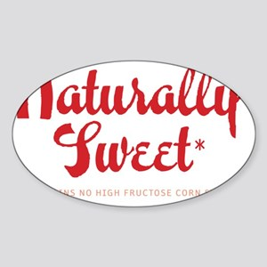 Naturally Sweet Sticker (Oval)