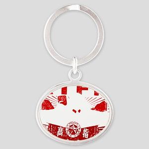 Mao_RTFMw Oval Keychain