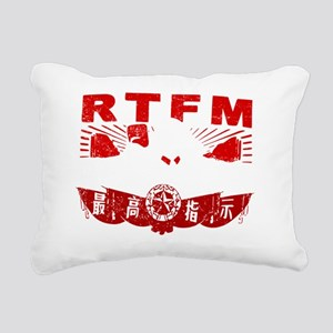 Mao_RTFMw Rectangular Canvas Pillow