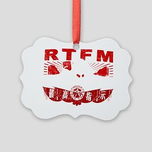 Mao_RTFMw Picture Ornament
