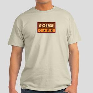 Corgi Cafe Light T-Shirt