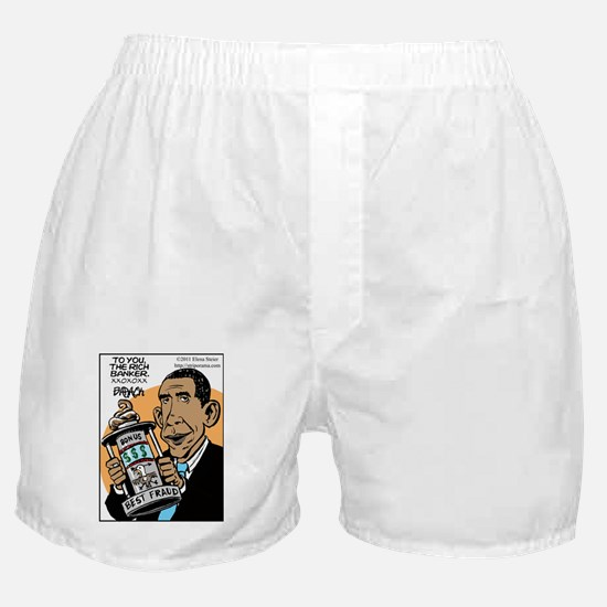 Obama and the Prize Boxer Shorts